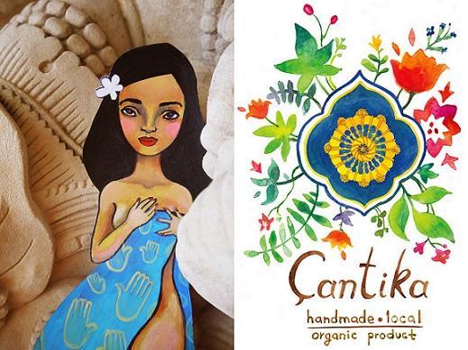 Натуральная косметика Cantika Zest с острова Бали.
