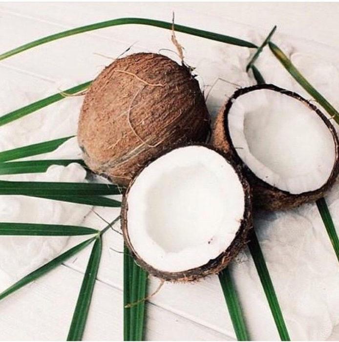 Витаминный рай в кокосе.