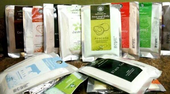 bali alus body and face mask