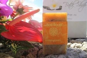 Натуральное мыло Франжипани Natural Soap neBali 100 гр – арт. 2347
