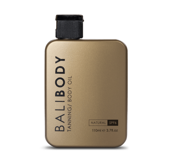 bali body oil gold