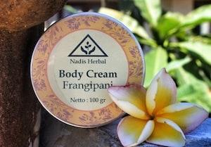 nadis herbal body butter frangipani