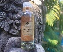 nadis herbal massage oil sacred scent