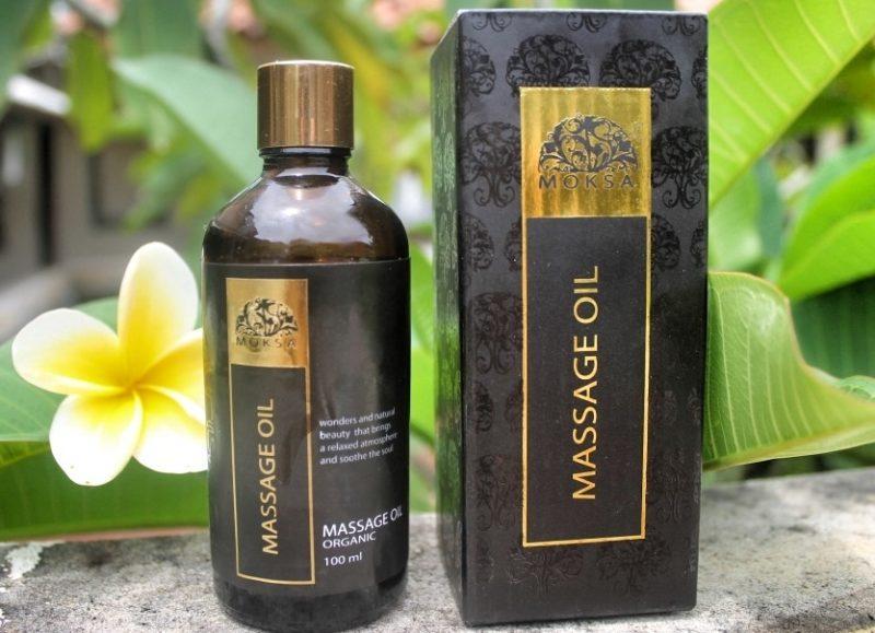 Массажное органическое масло Moksa 100 мл — арт. 2545