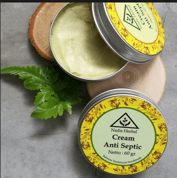 cream anti septic nadis herbal
