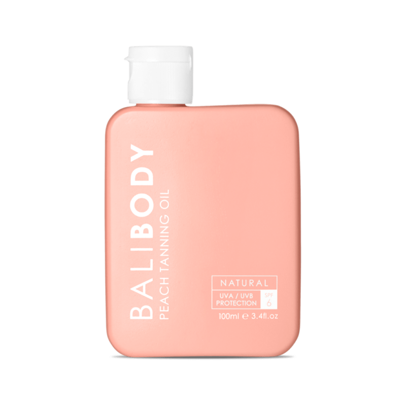 Bali Body Масло для загара Персик SPF6 Grape tanning oil  110 мл — арт.3056