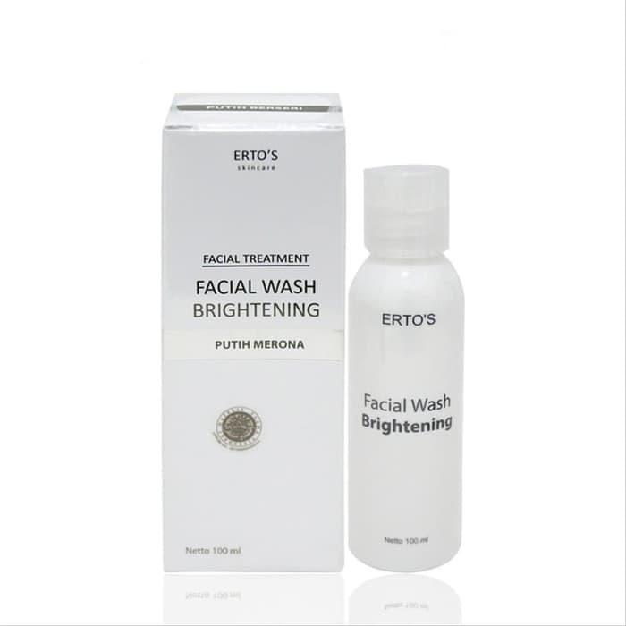 facial wash ertos