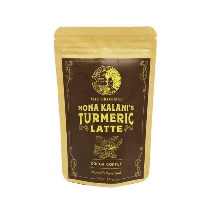 latte cacao coffee turmeric