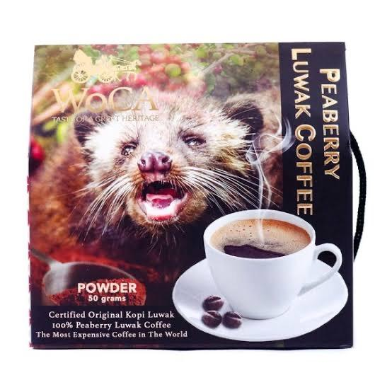 peaberry coffee Luwak