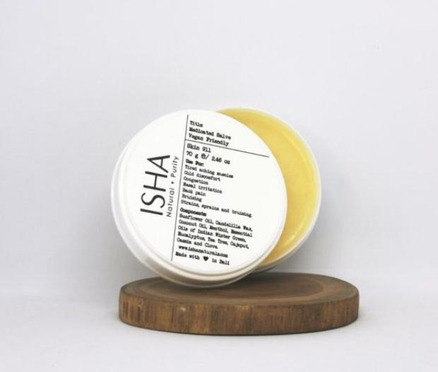 Лекарственная мазь ISHA Natural Medicated Salve Vegan Friendly 70gr. арт. 4137
