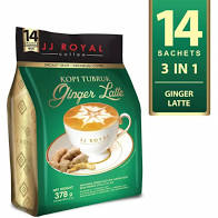 jj royal latte coffee